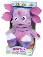 """Мягкая игрушка """"Мульти-Пульти"""" Лунтик рассказывает 3 сказки 24 см арт.V8580"""